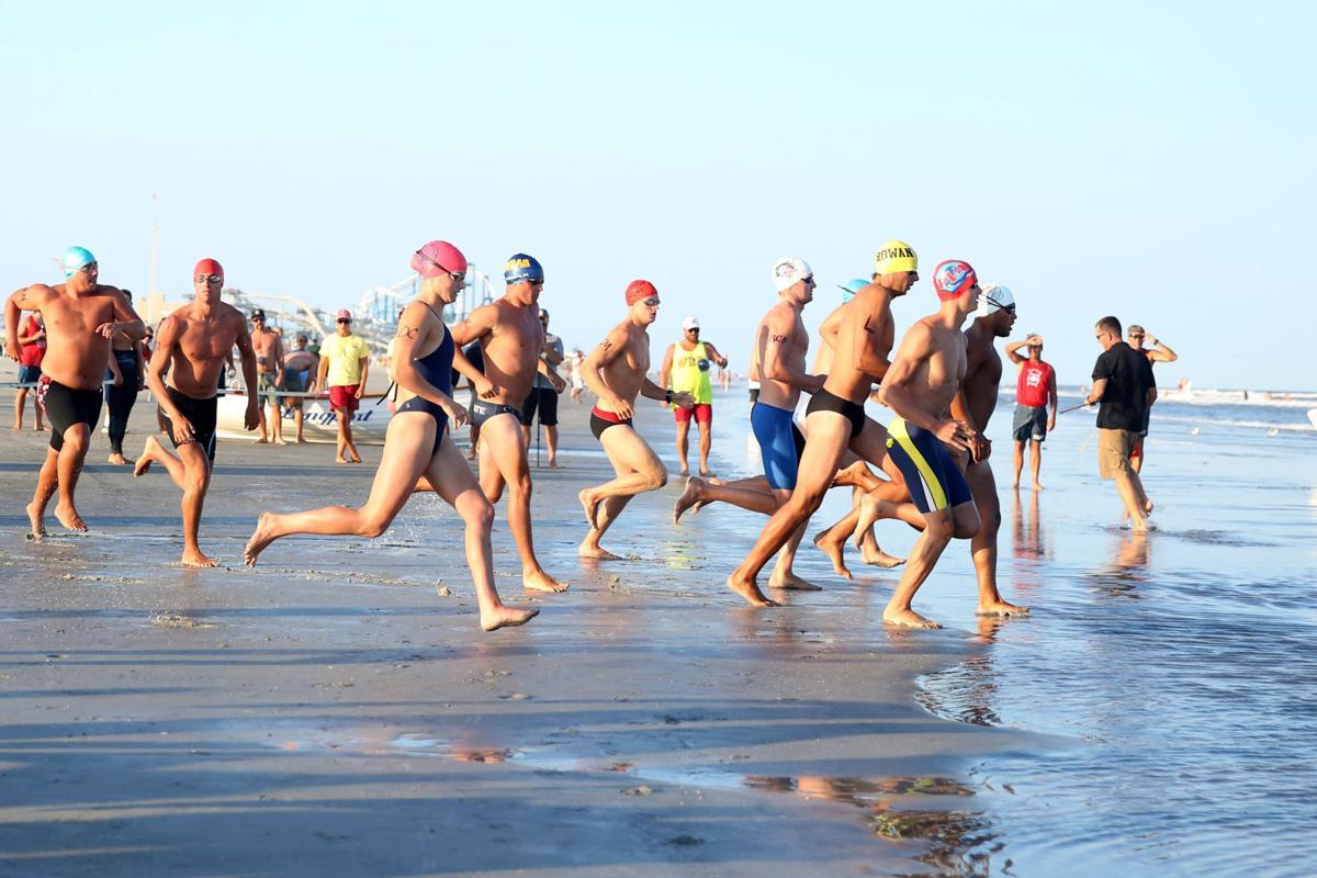 Dutch Hoffman lifeguard race