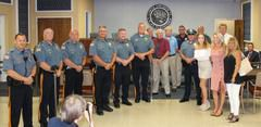 Lower Township Police Department Promoted a New Sergeant First Class & Honored a Recently Retired Sergeant