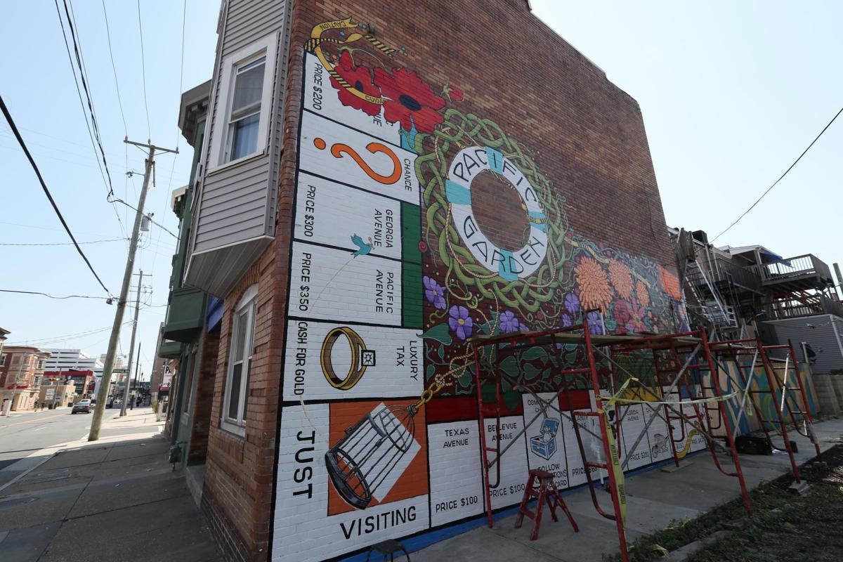 Atlantic city casino mural art planet hollywood las vegas casino credit