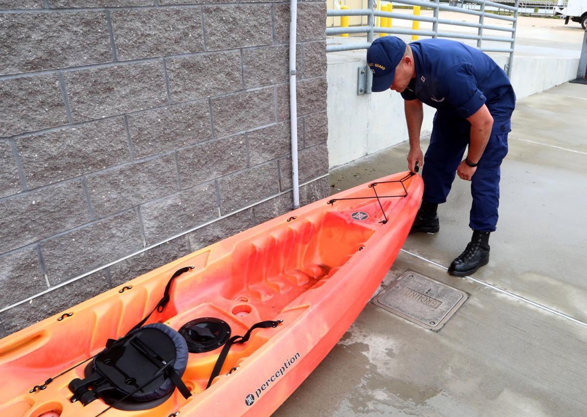 Coast Guard shares tips to keep kayakers safe this boating