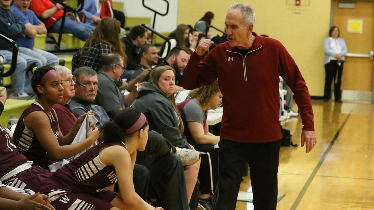 GALLERY: Wildwood girls basketball coach Dave Troiano