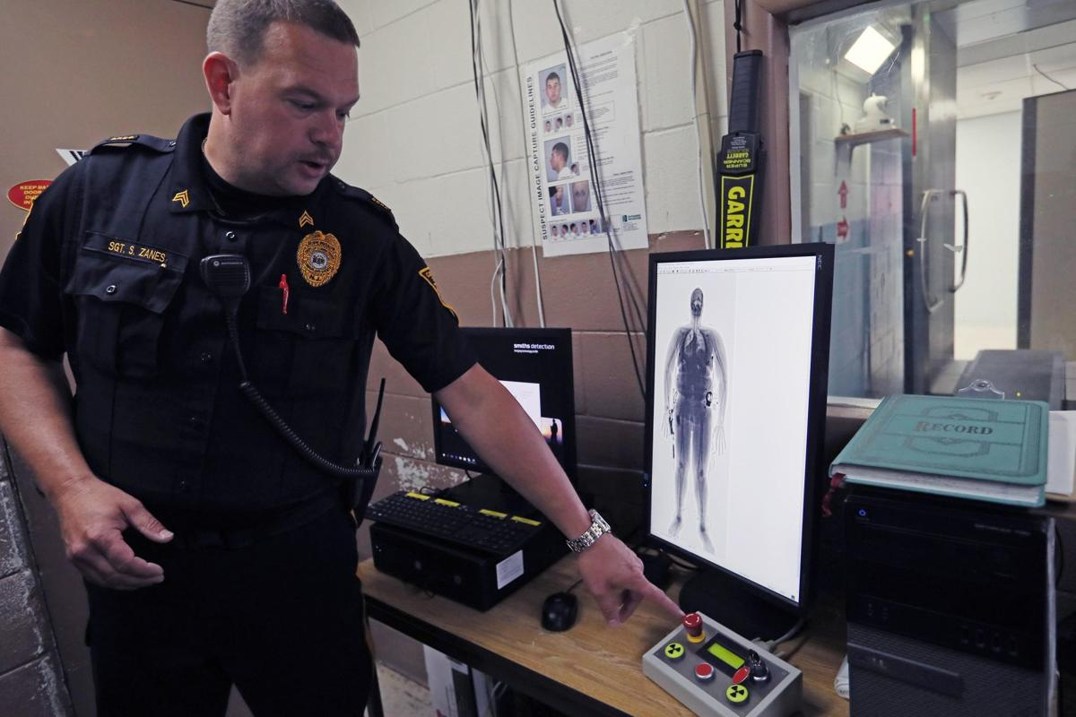 Cumberland County Jail's body Scanner