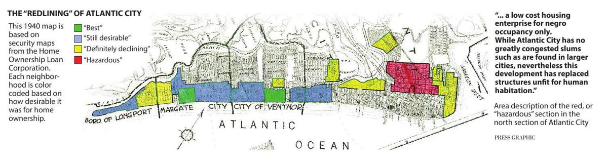 Redlining: Atlantic City's past