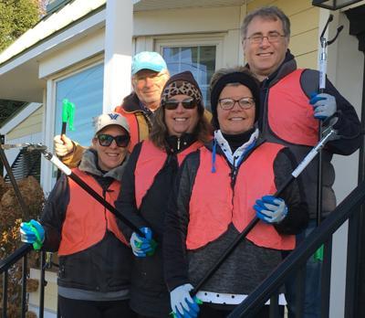 UTBA Clean Communities Roadside Trash Project
