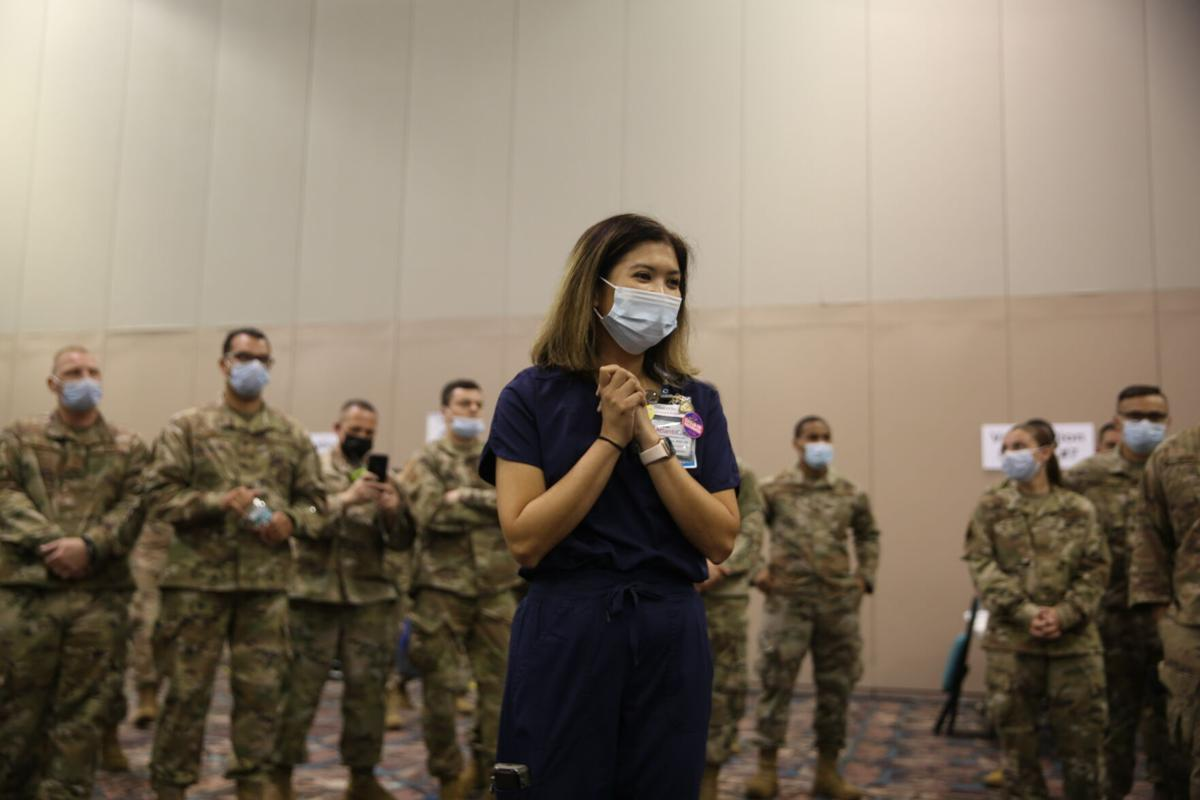 The final day of the Atlantic City Convention Center state run mega site for COVID-19 vaccinations Saturday, June 19, 2021.