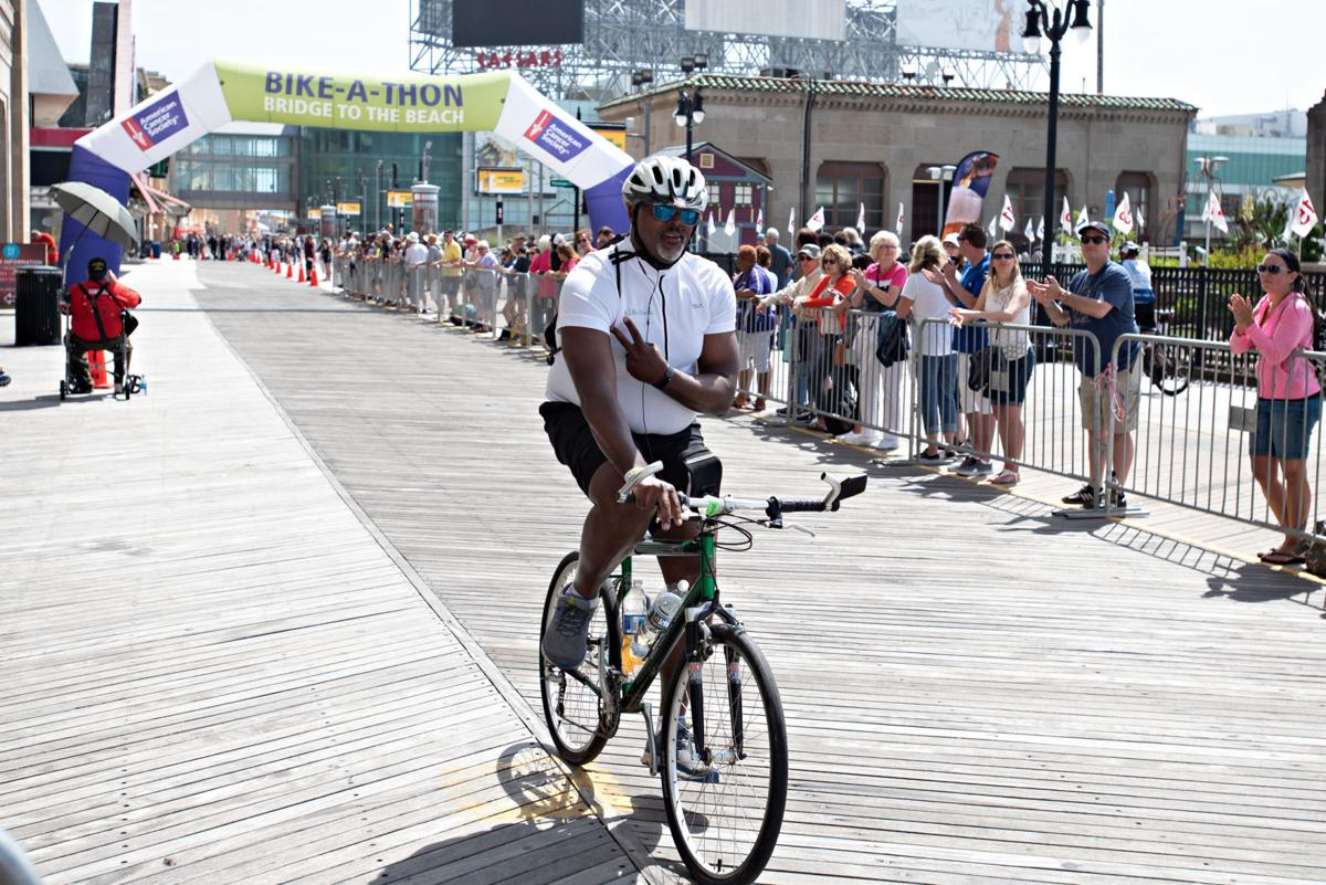 PHOTOS from the American Cancer Society Bike A Thon in Atlantic City