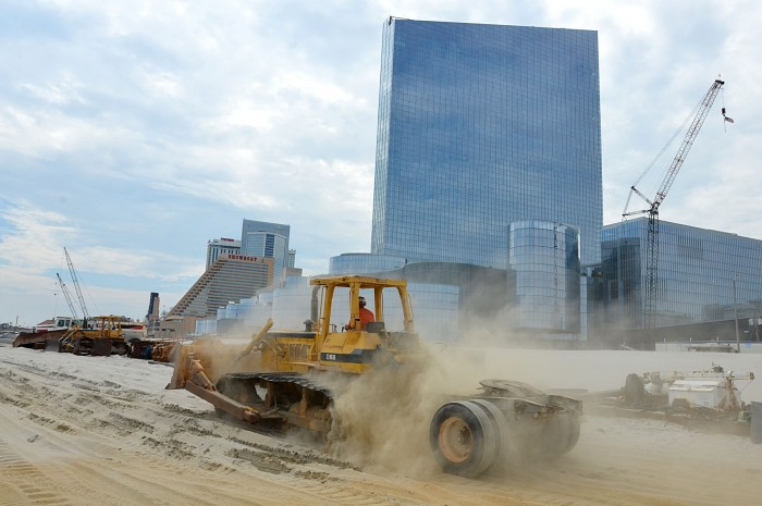 beach in front of revel