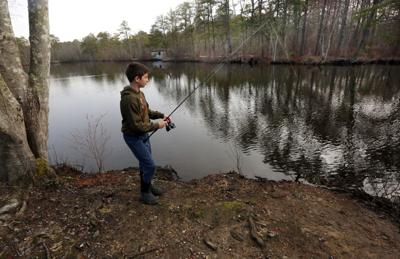 Trout fishing at Birch Grove