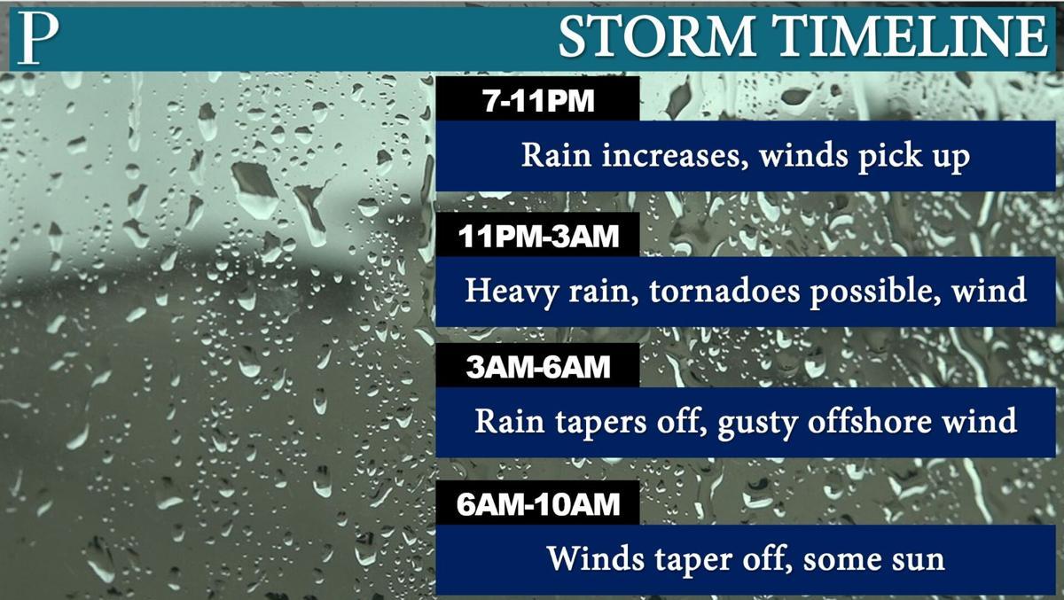 Storm Timeline Elsa