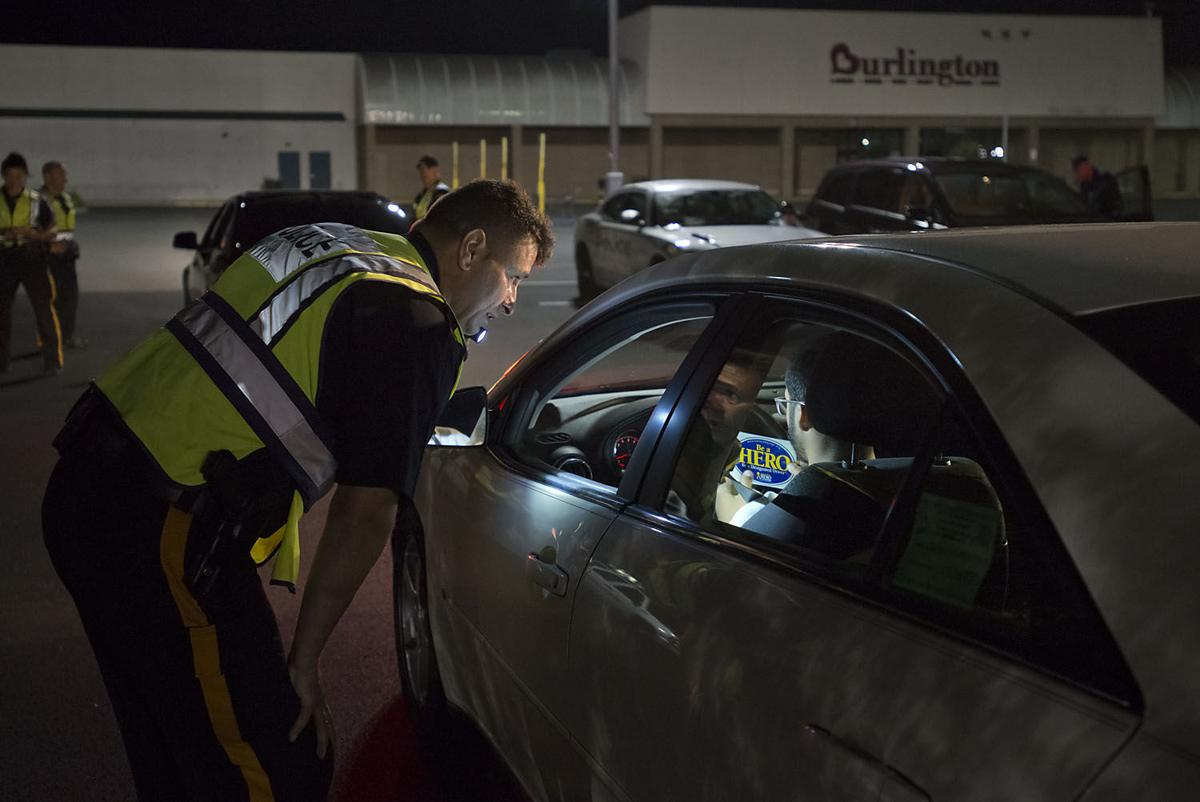 DWI checkpoint in EHT