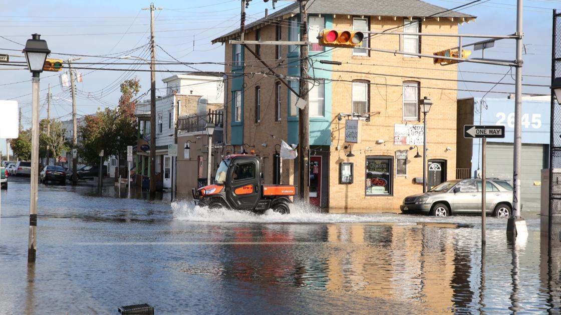 High tide occurring Friday evening, here's the latest