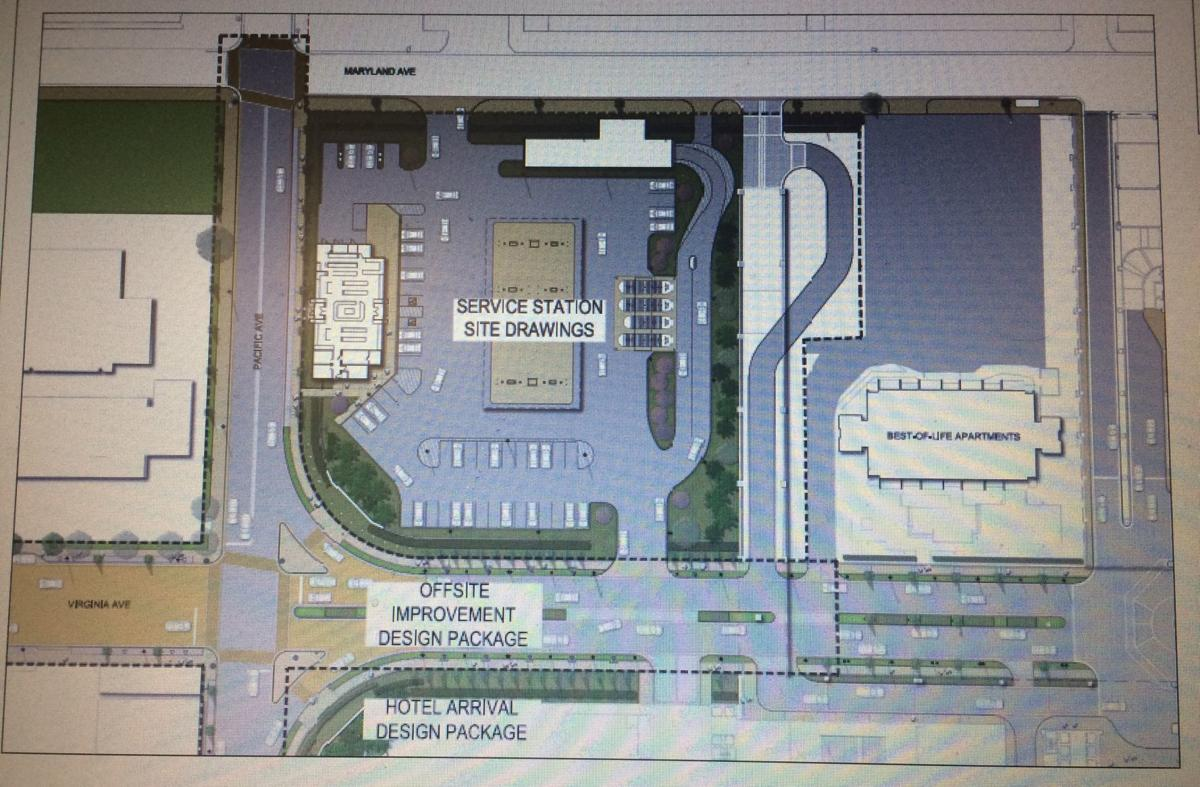 Hard Rock Gas Station Plans