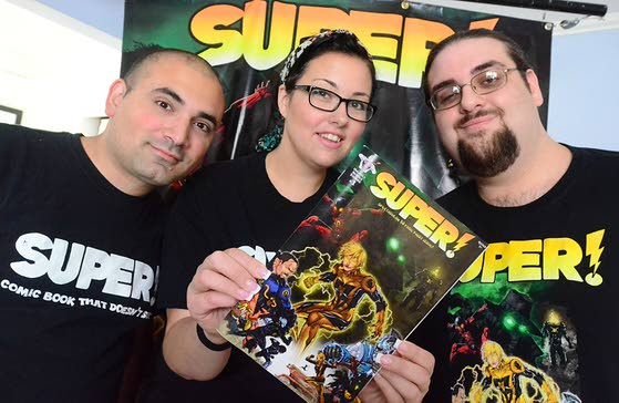 Local writers bring the superheroes' second team to life