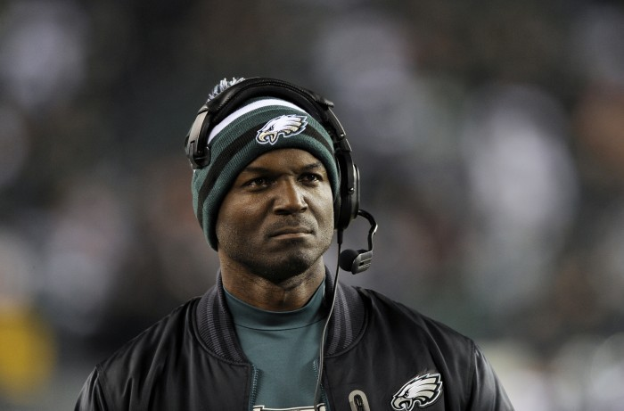 Todd Bowles on sideline 2012