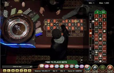 Golden Nugget Live Casino Floor Dealer Roulette