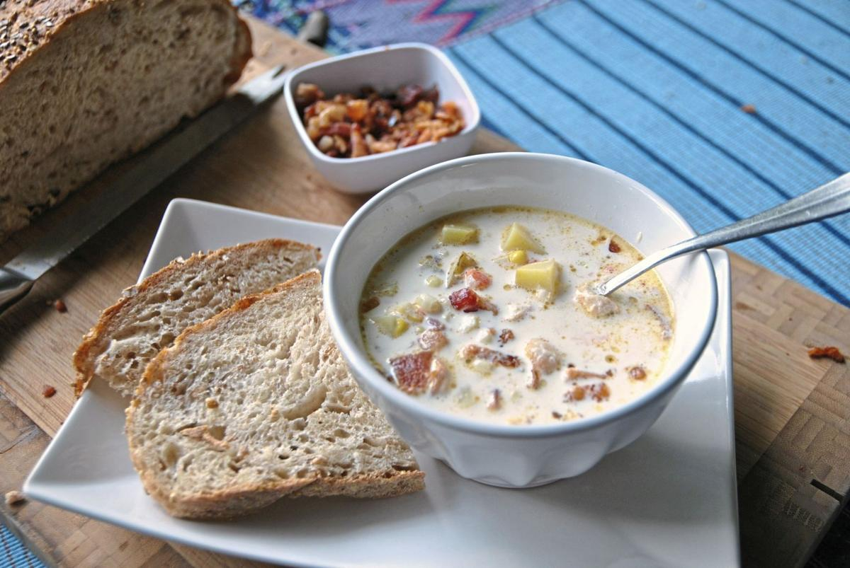 FOOD CORN-CHOWDER TB