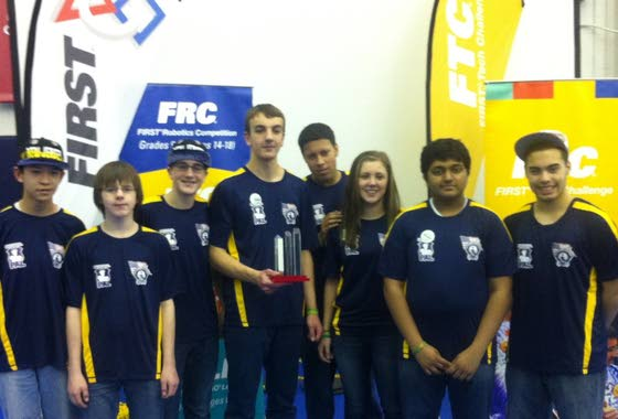 EHT robotics team to enter world championship