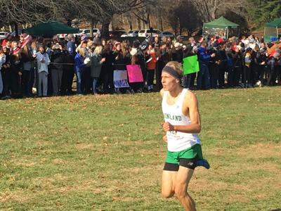 Kevin Antczak runs at Meet of Champions