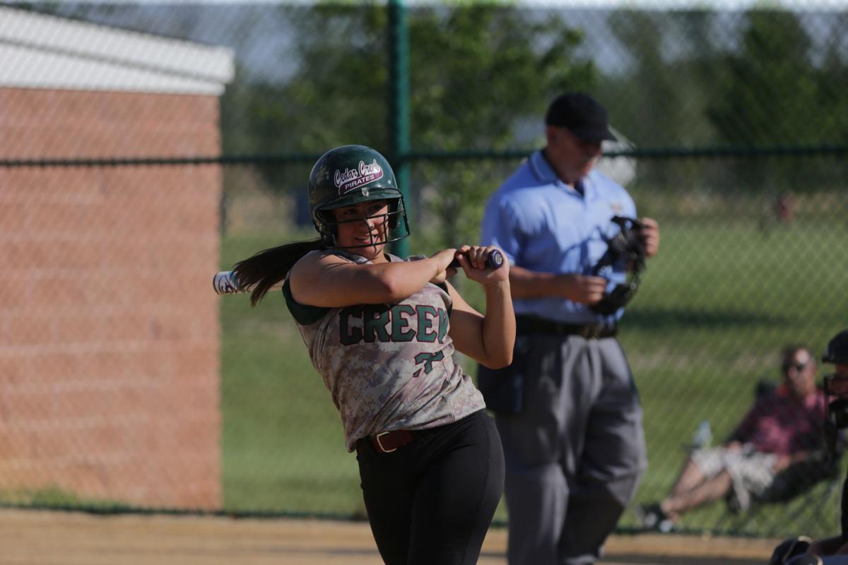 Cedar Creek vs. Medford Tech playoff softball game