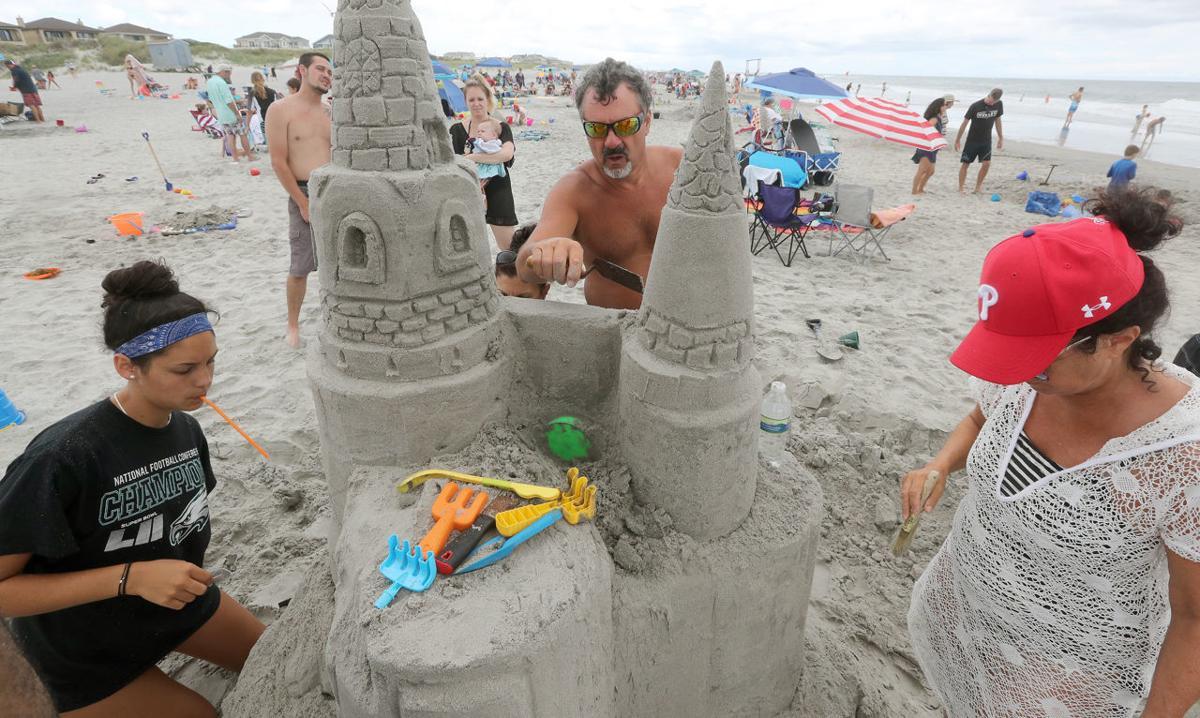 Sand Sculpture Brigantine