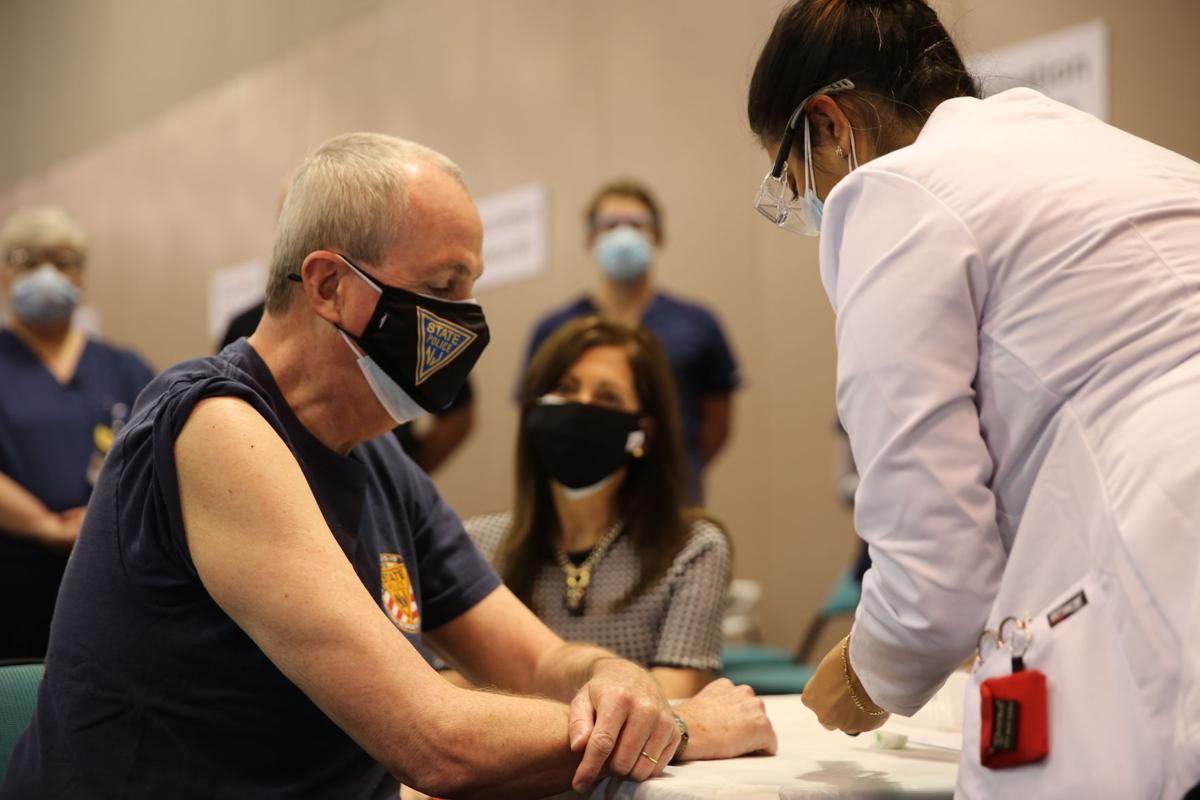 Gov. Phil Murphy COVID vaccine