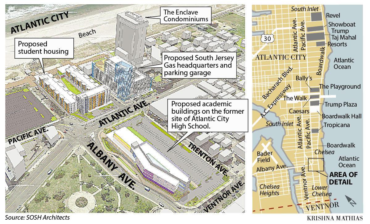Stockton University Map