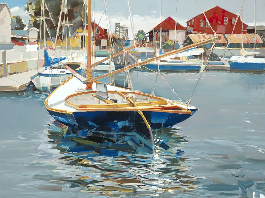 Seasonal Obsession - 48x36 - Copyright Josef Kote 2017
