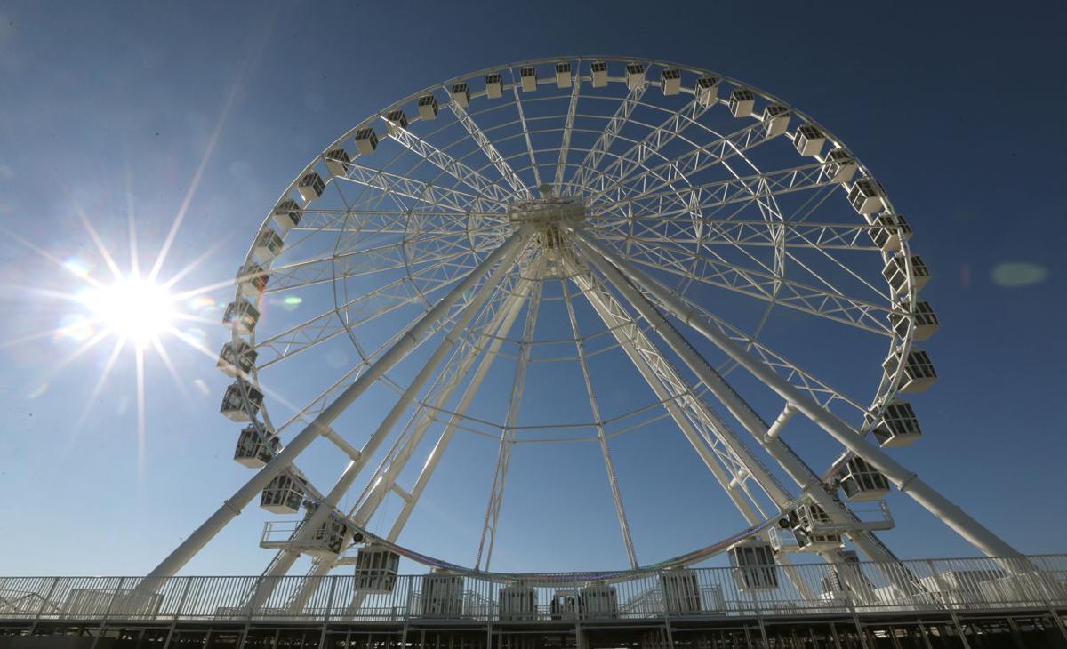 Steel Pier Wheel