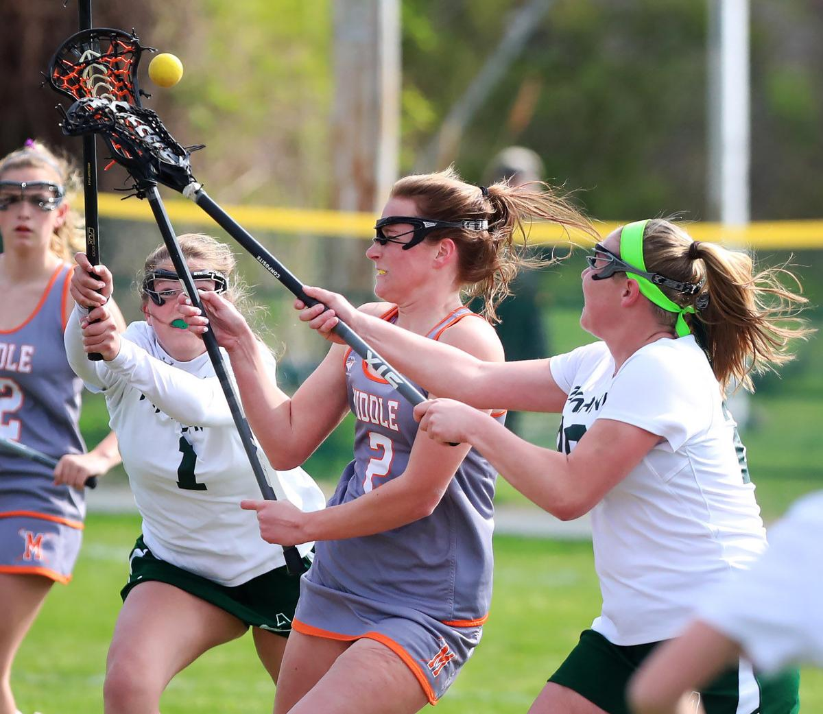 Mainland vs. Middle girls lacrosse game