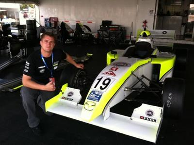 Former New Jersey Motorsports Park employee living his dream to drive