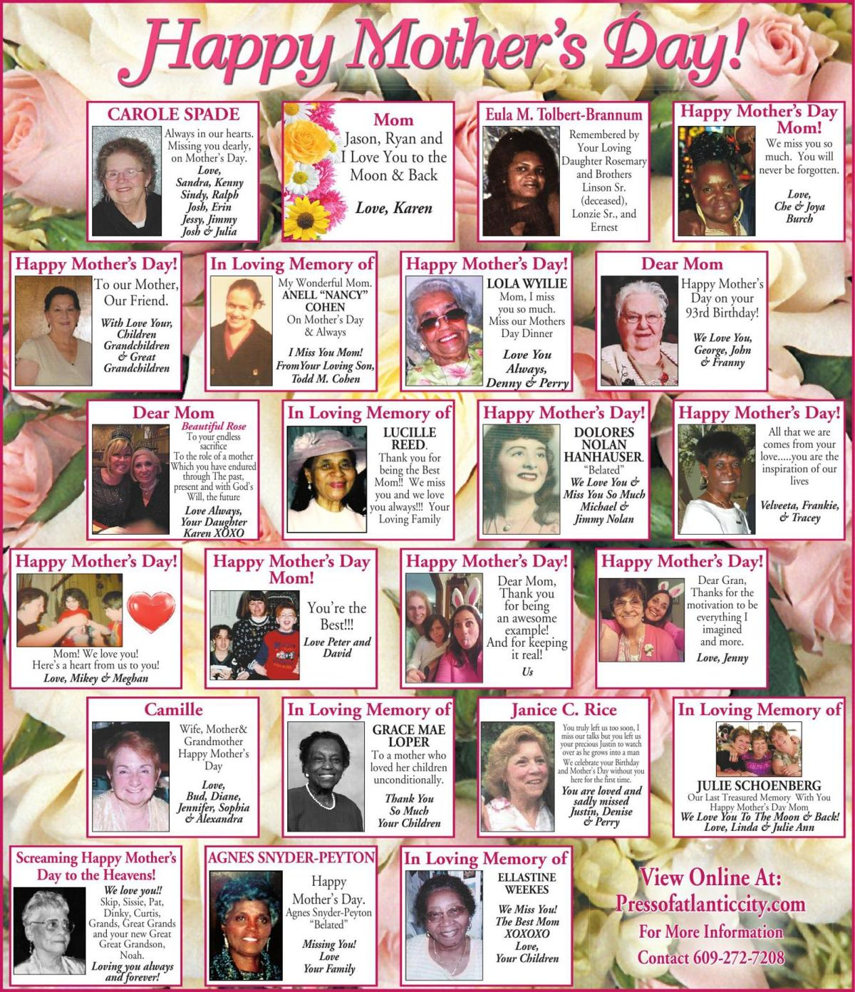 Mothers Day Page