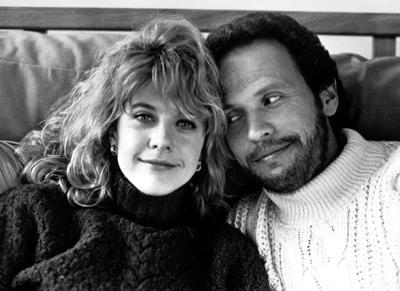 Meg Ryan and Billy Crystal in'' When Harry Met Sally.