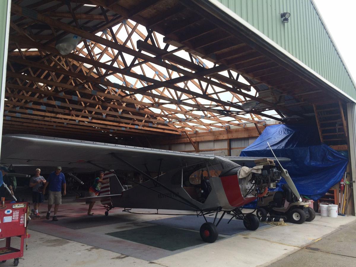 Cape May hangar