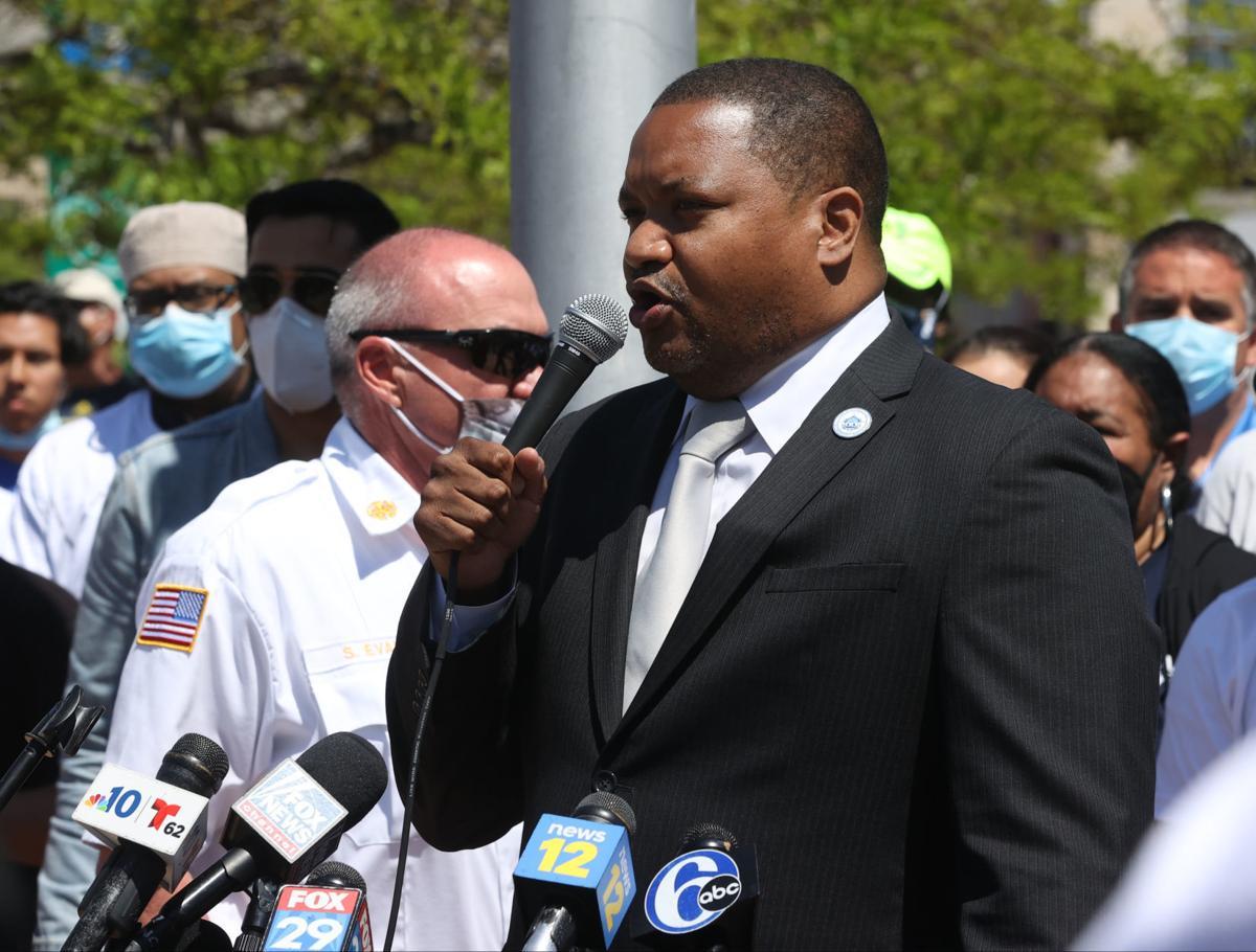 Atlantic City Mayor Marty Small Sr. press conference
