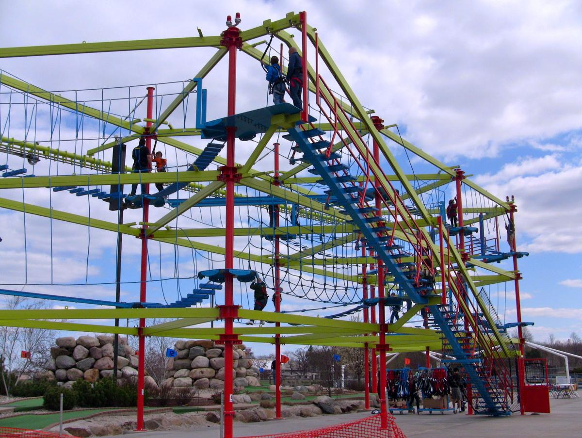 See What Revel Ropes Course Might Look Like Breaking