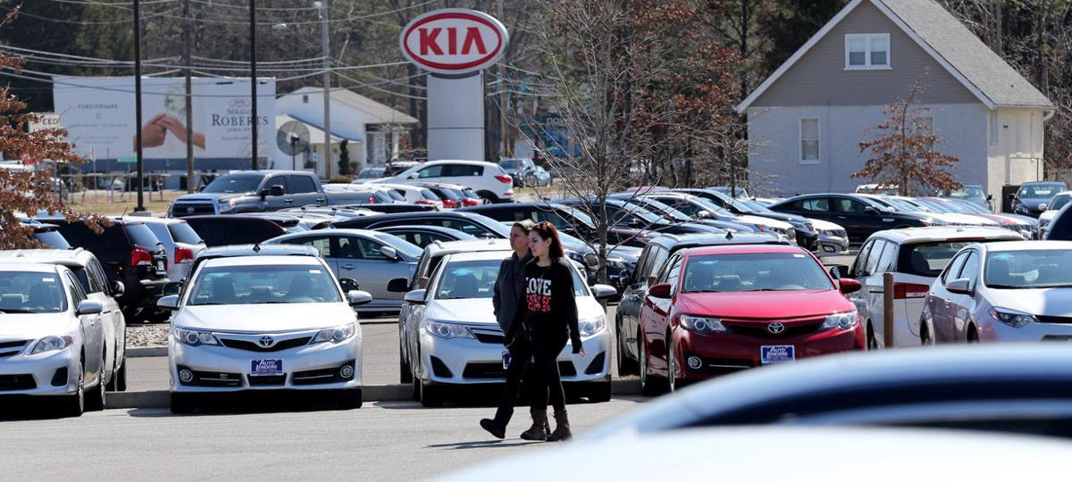 Black Horse Pike swimming in car dealerships | News ...