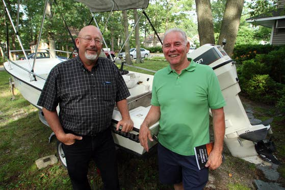 Sand in My Shoes: Northfield authors write of their ordeal at sea