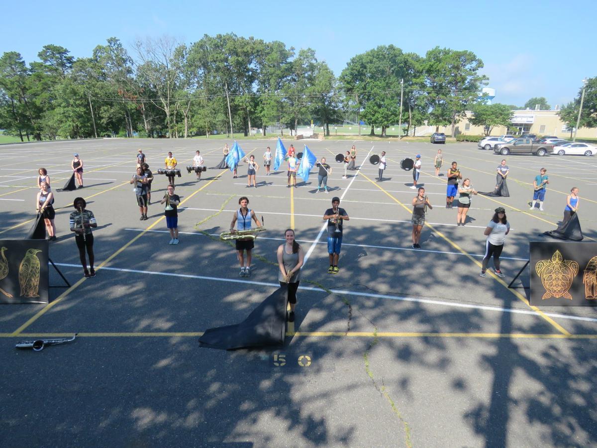 The Oakcrest High School annual summer Band Camp