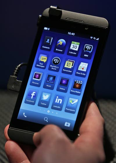 BlackBerry Z10 is good stab at recapturing company's cool