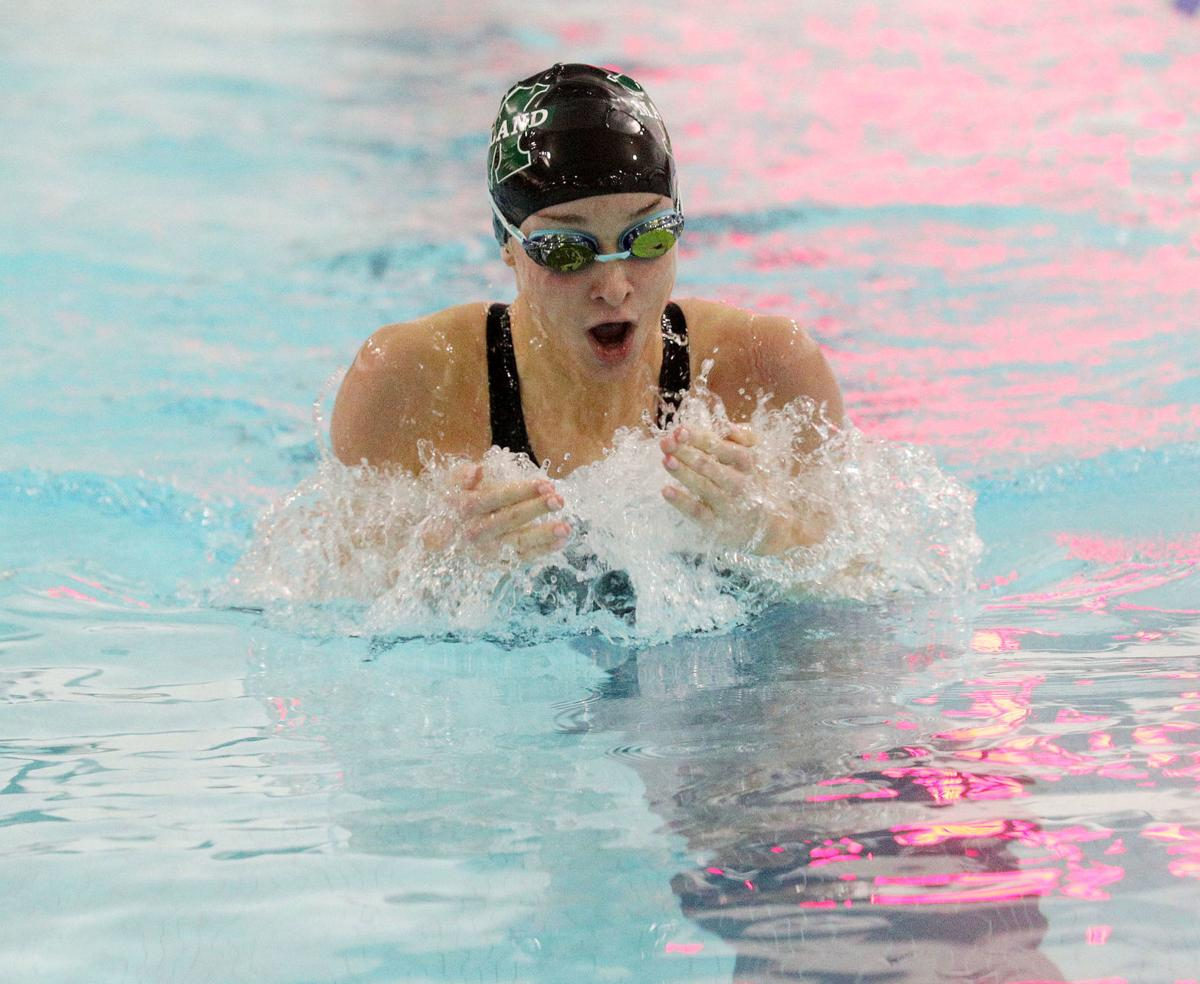 Egg Harbor Township vs Mainland swim meet