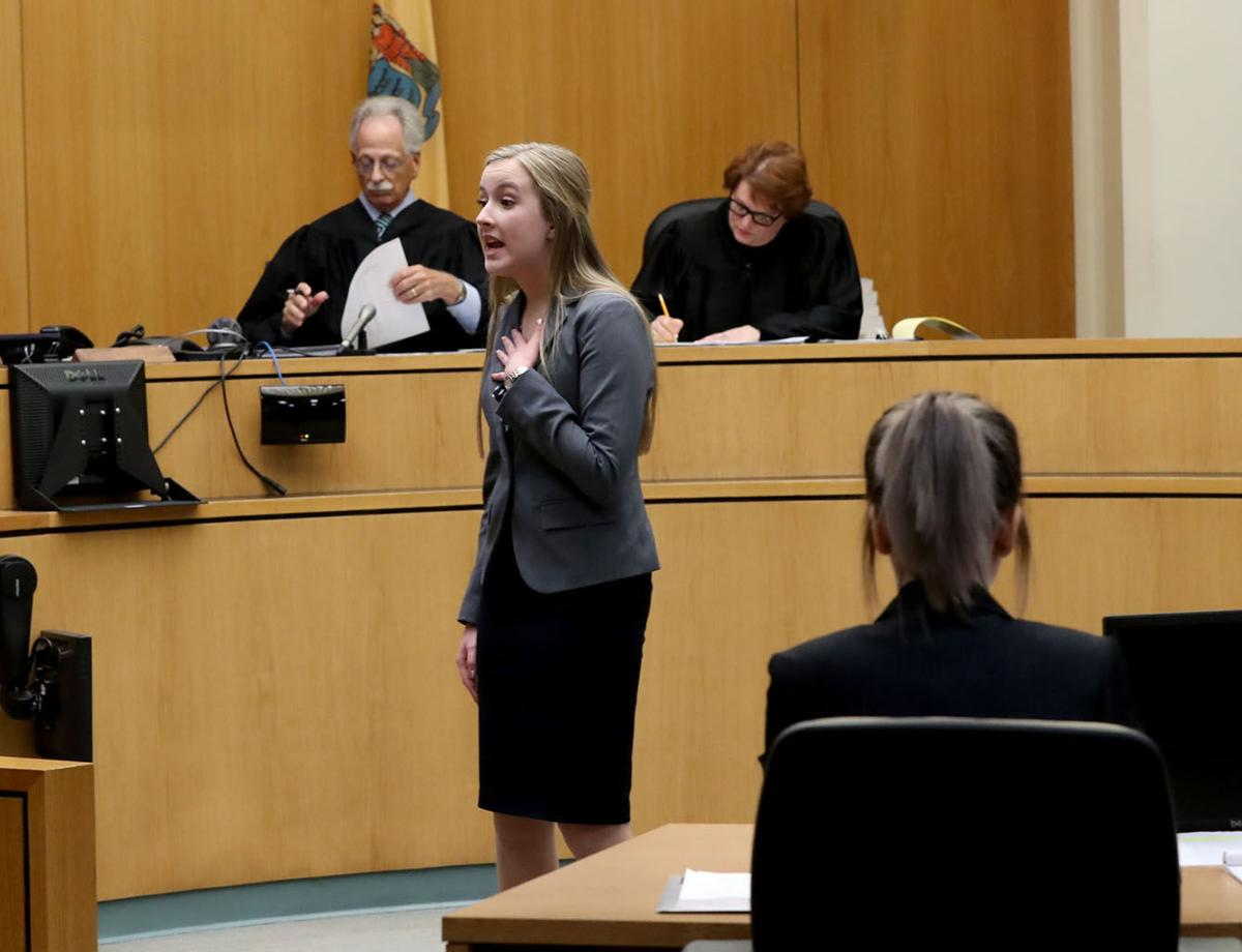 Students learn judicial system and more during mock trial