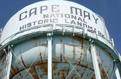 Cape May's 77-year-old water tower is finally rusting through and