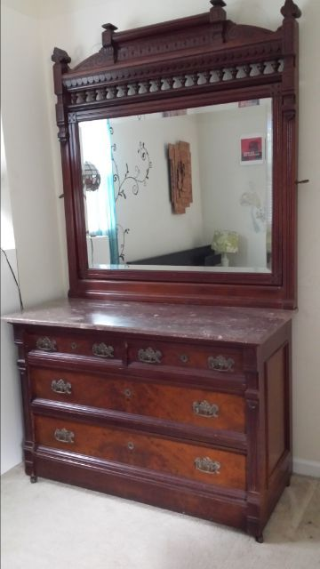 Late 1800s Dresser Example Of Eastlake Style Lifestyles