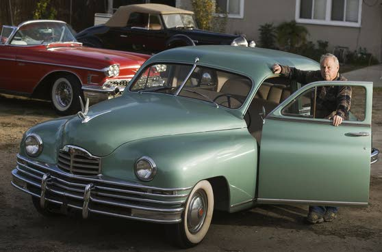 Beloved vintage cars star in 'Gangster Squad' movie