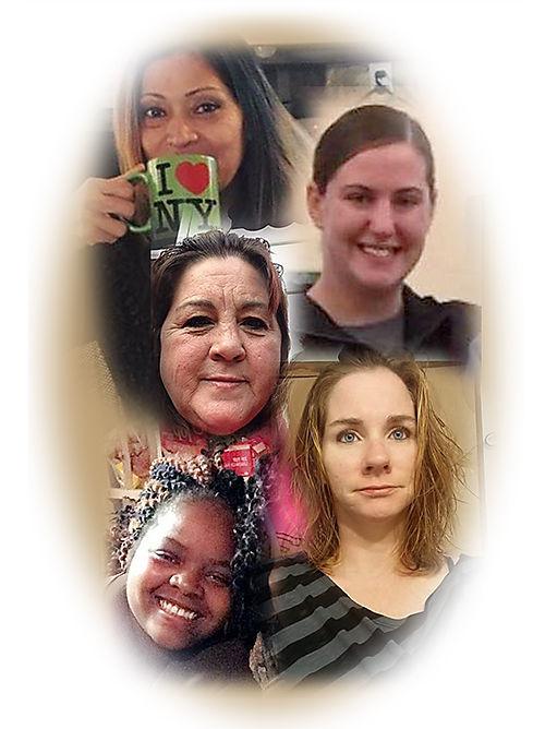 Domestic Violence victims collage