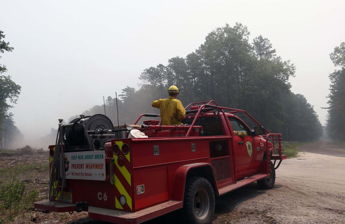 Wharton state forest fire expected to burn through saturday top stories pressofatlanticcity com