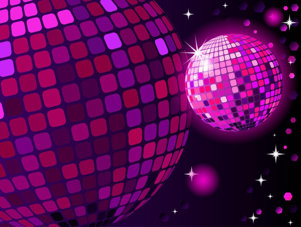 Disco ball nightlife