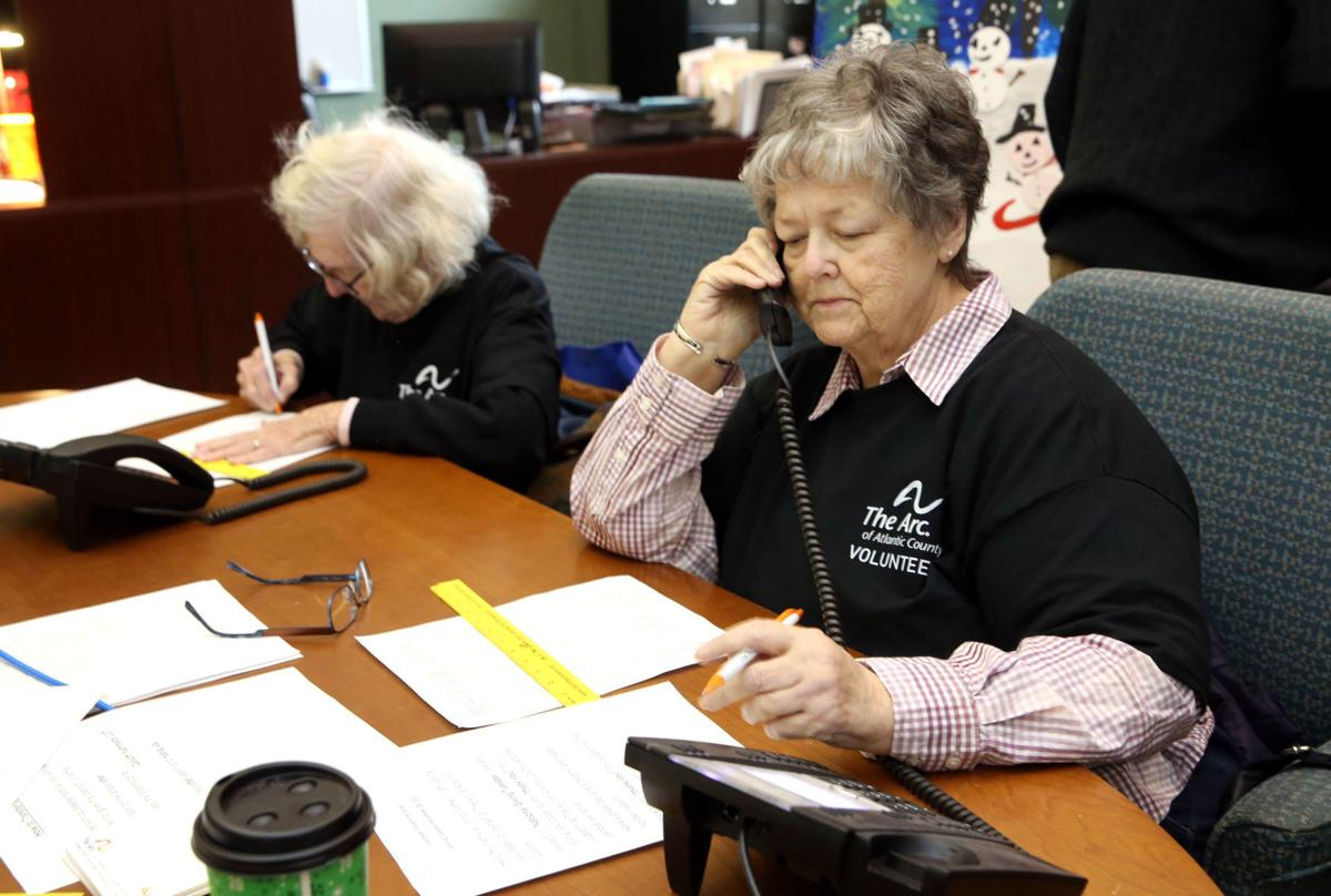 Giving Tuesday means a thank you call from the Arc of Atlantic County