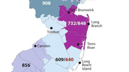 609 area code location