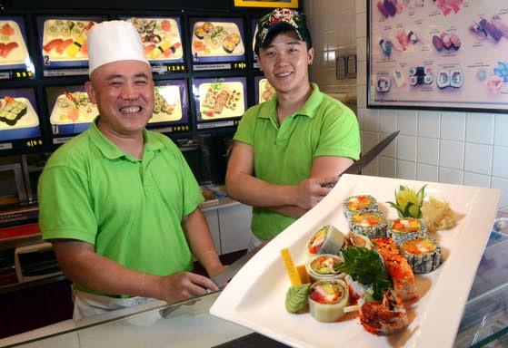 Fresh sushi at Osaka stands out at Hamilton Mall Food Court